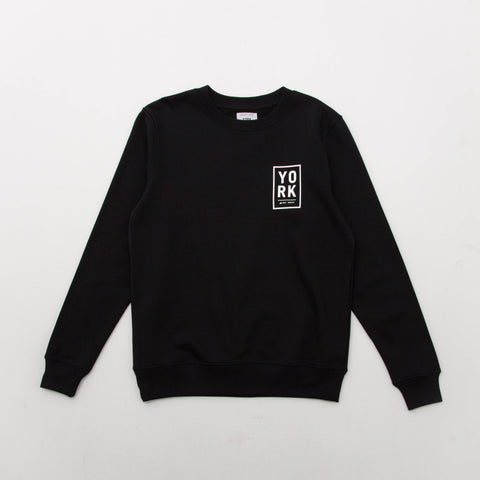 Square Logo Sweater - Black