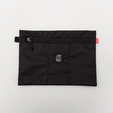 Not Seen Tobacco A4 Pouch - Black - Front | AStore