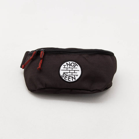 OG Moonbag - Black / White Patch - A Store
