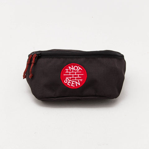 OG Moonbag - Black / Red Patch - A Store