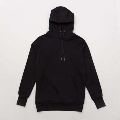 Classic Pullover Hoody - Black - A Store