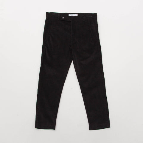 Stiebeuel Cropped Trousers - Cord Black - Front | AStore