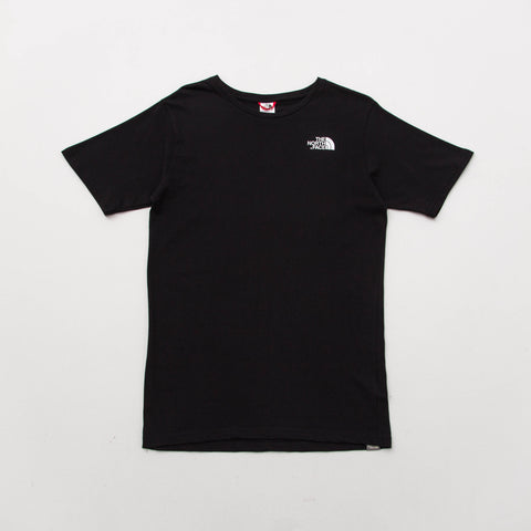 The North Face M SS North Faces Tee - Black - Front | AStore