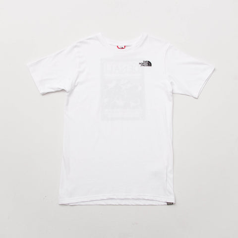 The North Face M SS North Faces Tee - White - Front | AStore