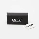 Super Classic Sunglasses - Black Flash Matte 166 - Box | AStore