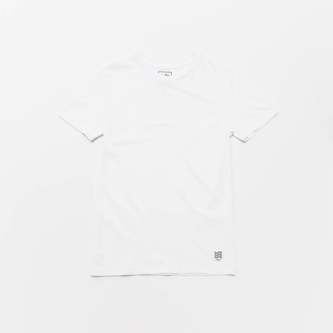 Basic T Shirt (Short Sleeve) - White - A Store