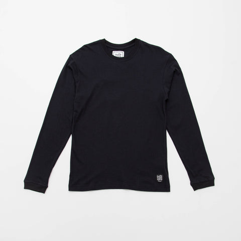 Basic T Shirt (Long Sleeve) - Black - A Store