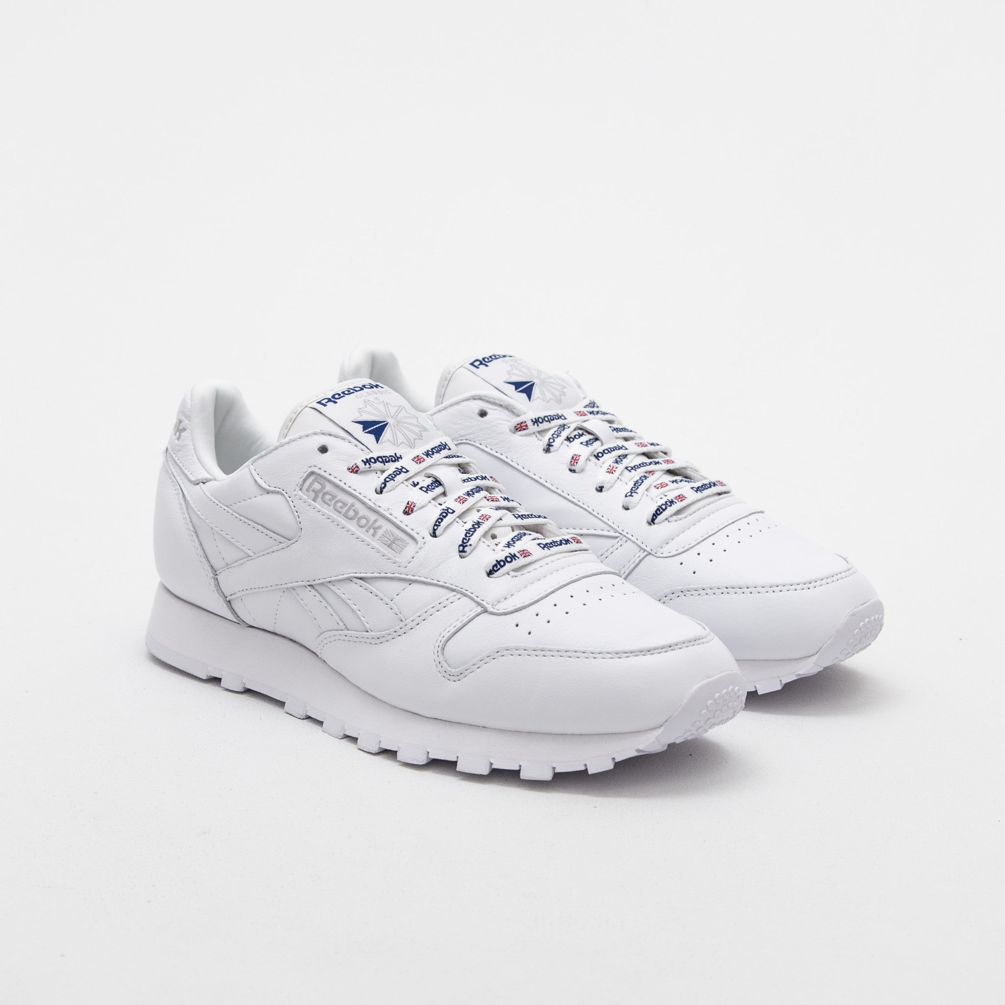 CL Leather 1895 - White / Collegiate Royal / Steel