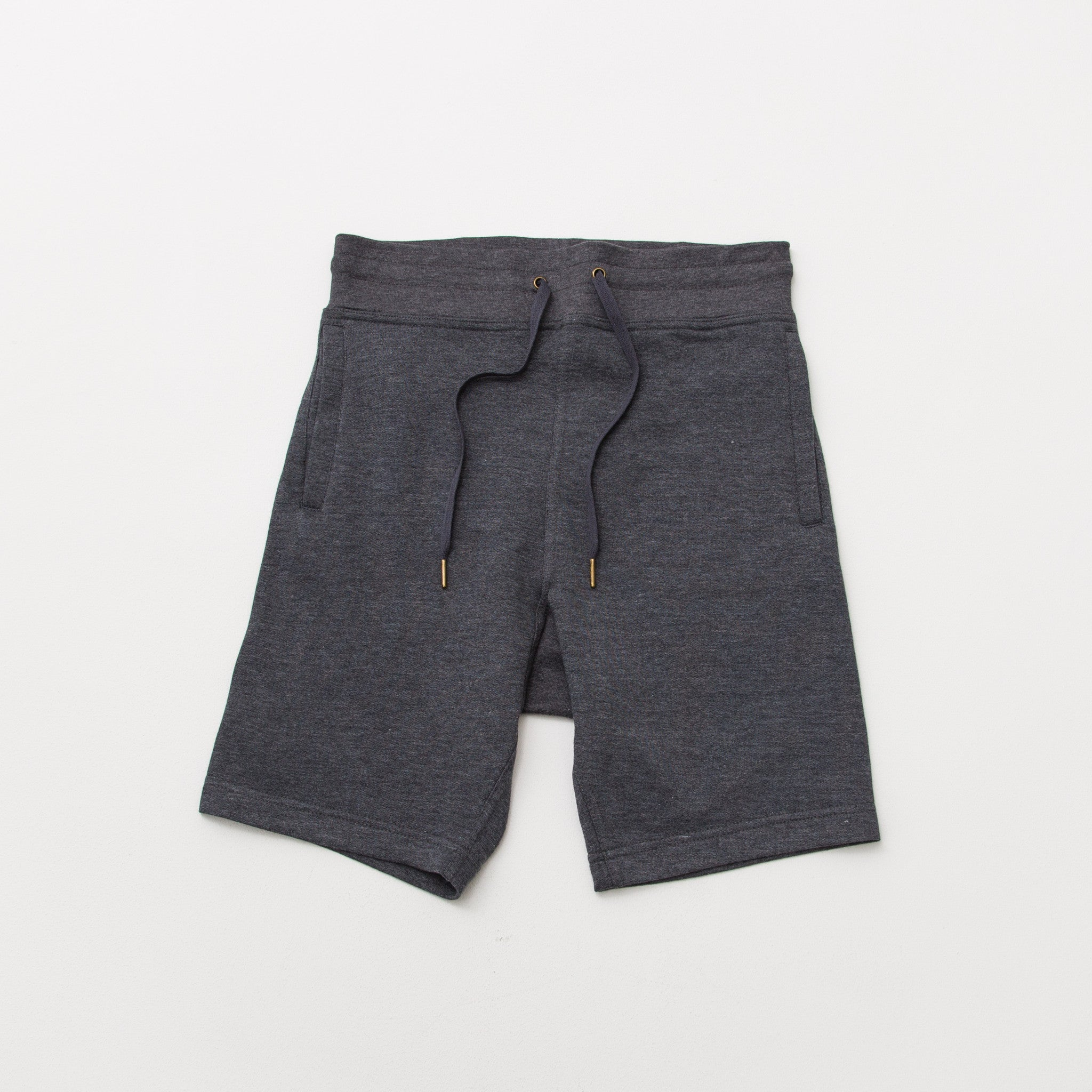 Relaxed Fleece Shorts - Charcoal - A Store