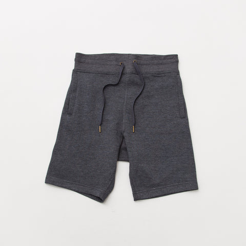Relaxed Fleece Shorts - Charcoal