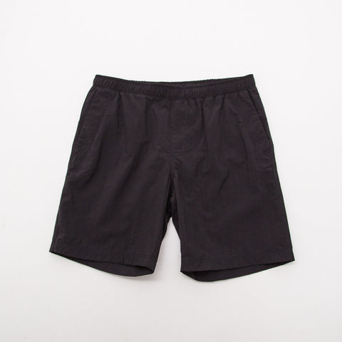 Nylon Swim Short - Black - A Store