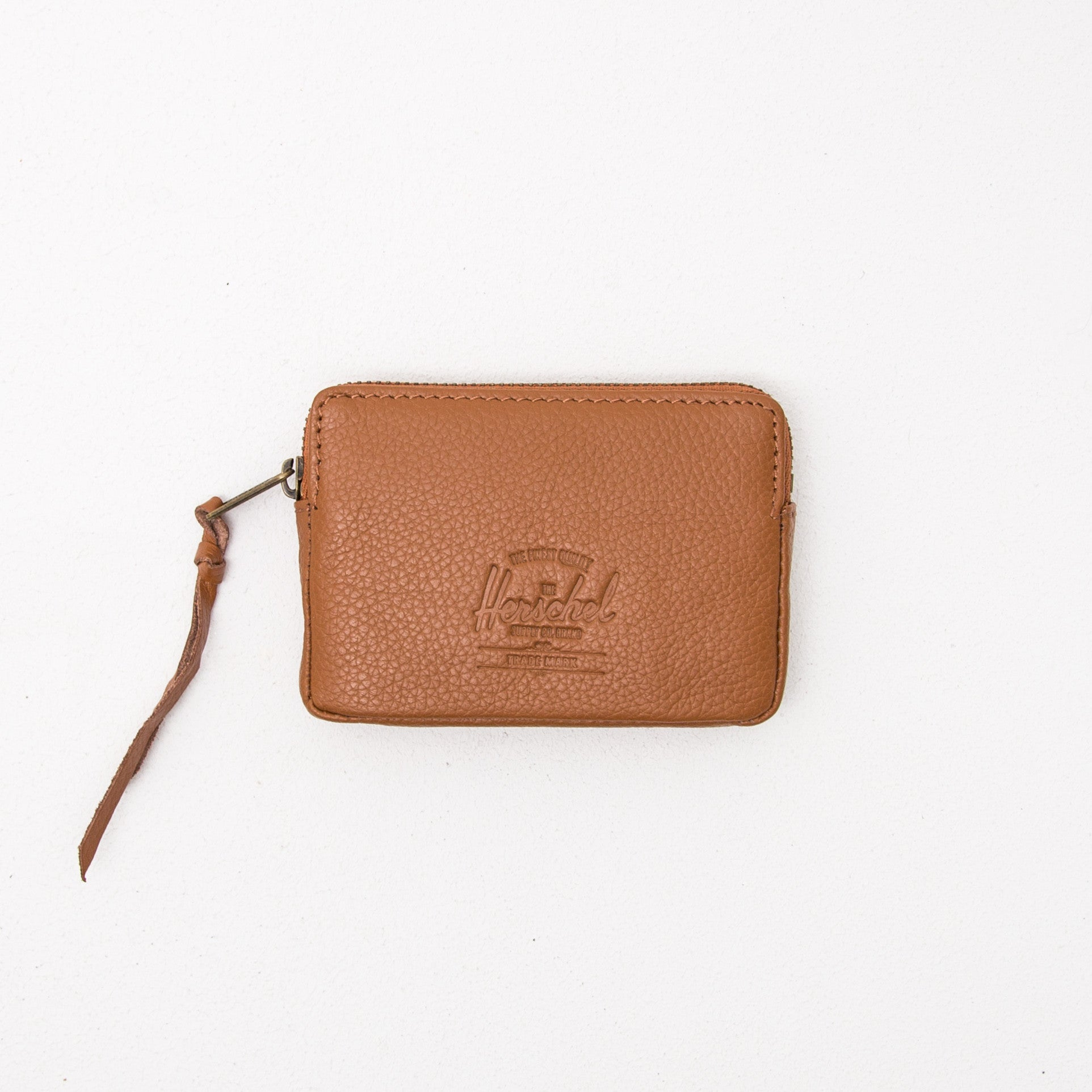 Oxford Wallet - Tan Pebbled Leather
