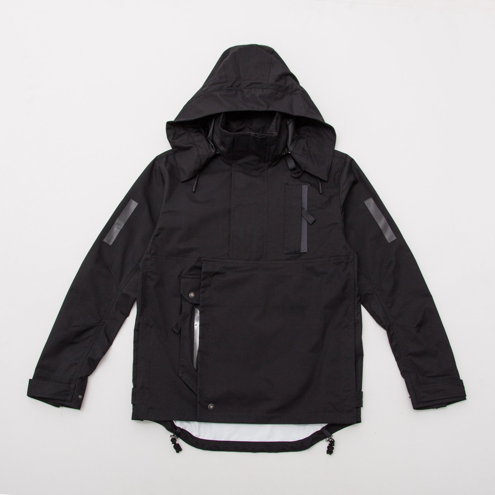 adidas Day One Outer Shell Windbreaker - Black Front B31039