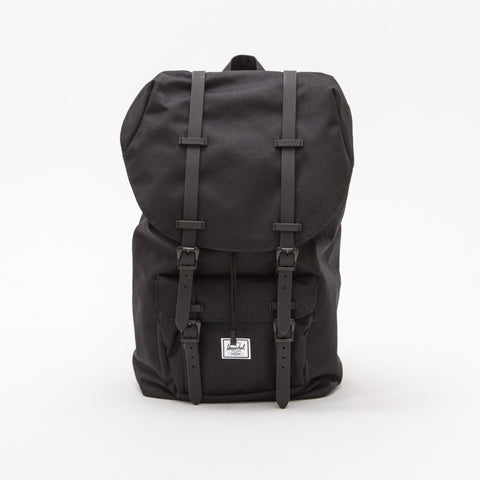 Little America Backpack - Black / Black