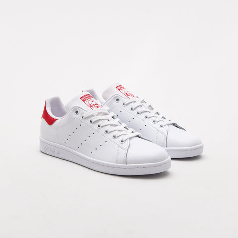 adidas Stan Smith - Running White Ftw / Running / Running White / Collegiate Red - M20326 - Pair
