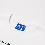 adidas EQT Logo Tee - White - BK7171 - Neck label