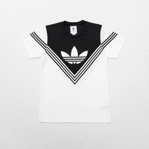 adidas WM Football Tee - White / Black - BQ0948 - Front