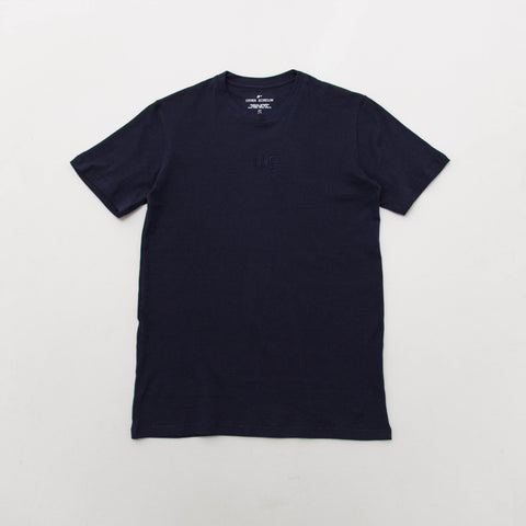 U.E. Embroided T Shirt - Navy