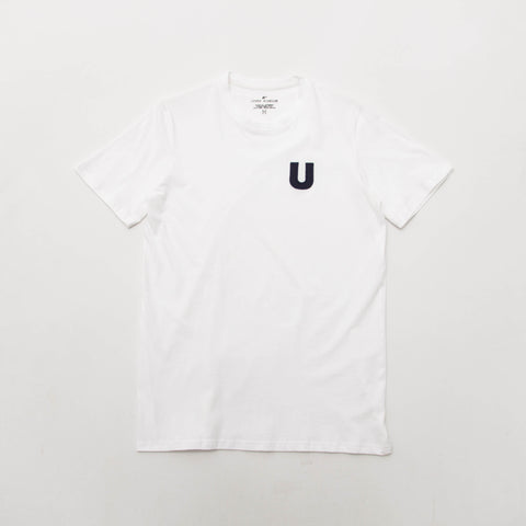 U Applique T Shirt - White