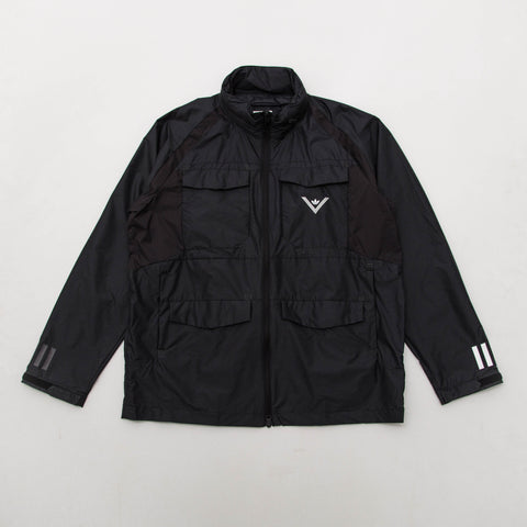 adidas White Mountaineering Field Windbreaker - Black BQ0935 | AStore