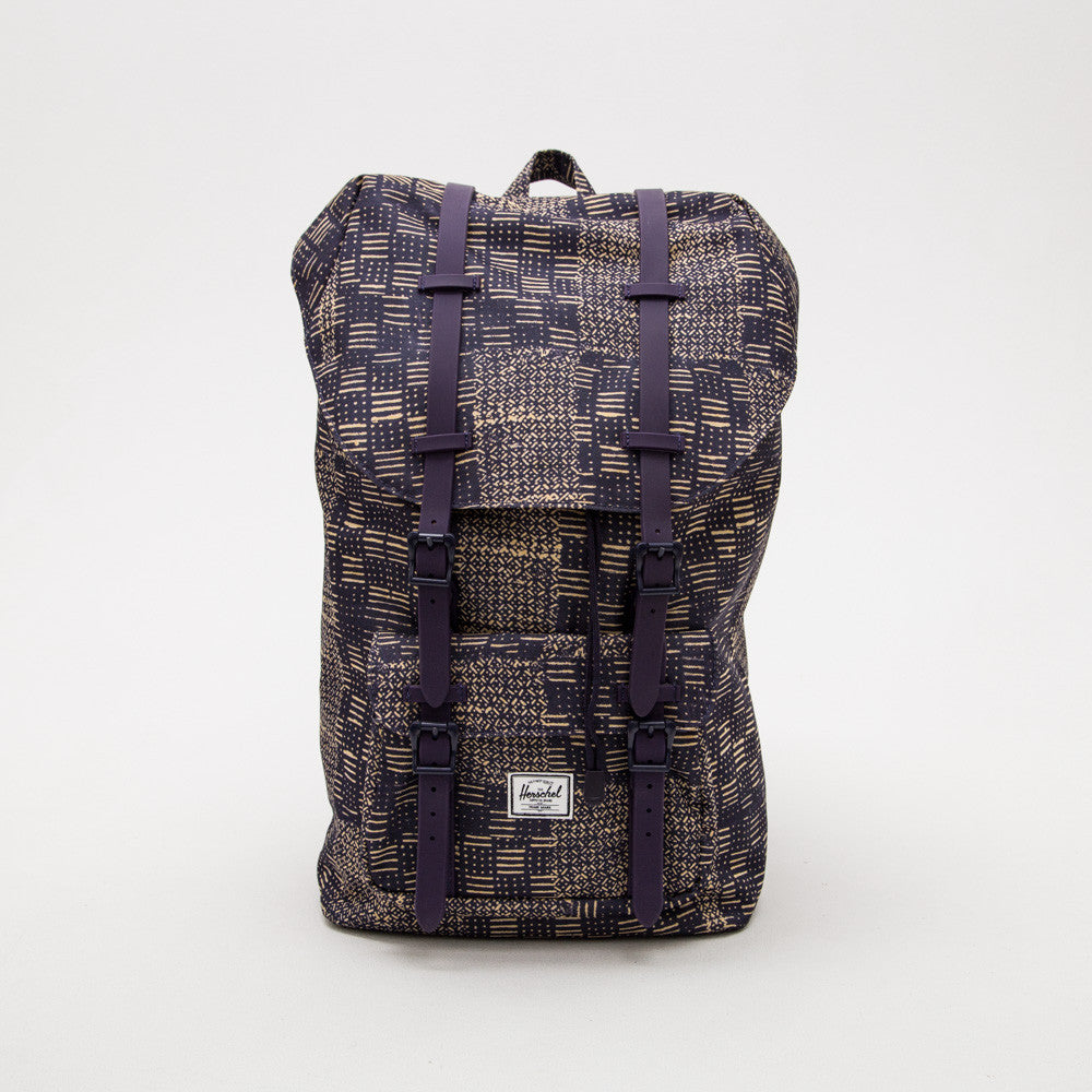 Little America Backpack - Boro Rubber