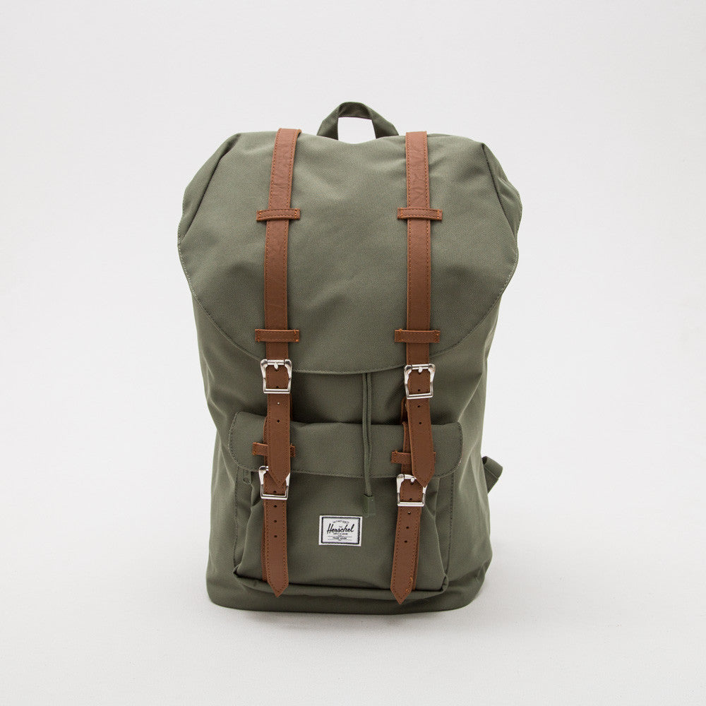 Little America Backpack - Lichen Green