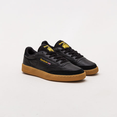 Club C 85 TDG - Black / Retro Yellow-Gum