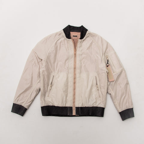 adidas Day One Reversible Bomber Jacket - Dust Pearl BS3117 | AStore