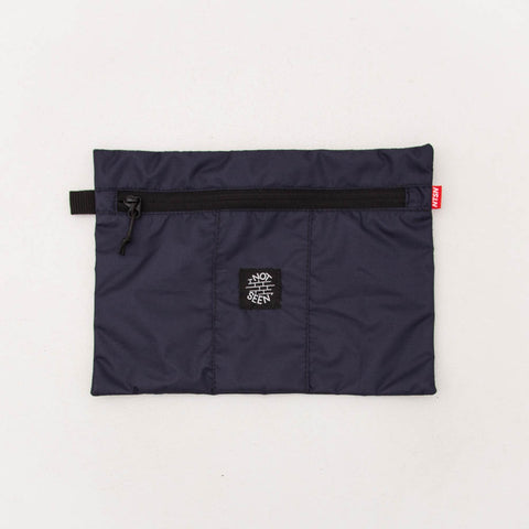 Not Seen Tobacco A4 Pouch - Navy - Front | AStore