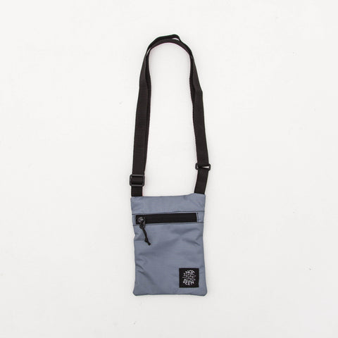 Not Seen Cash Passport Bag - Grey - Front | AStore
