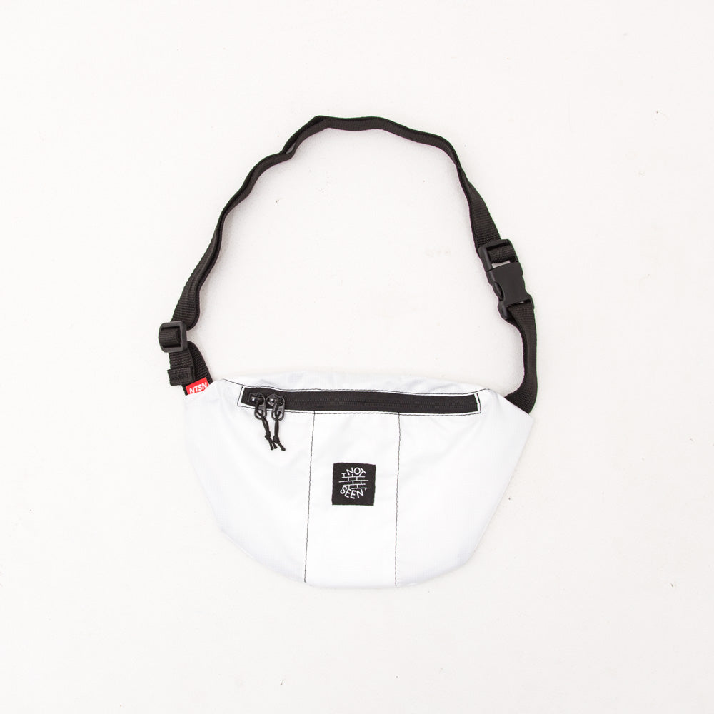 Half-Moon Bag - White - A Store