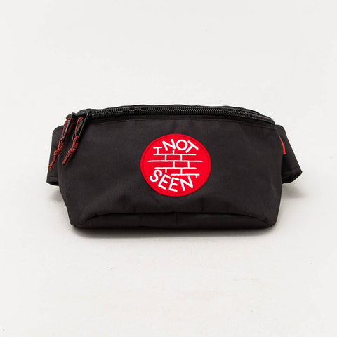 OG Moonbag XL - Black / Red Patch - A Store