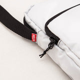 Not Seen Sling Bag / Utility Bag - White - Zip | AStore