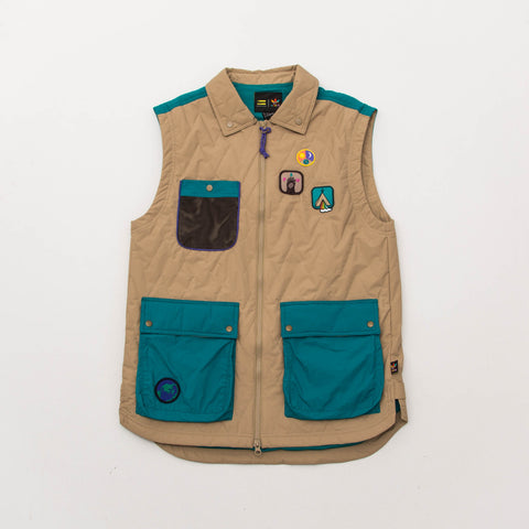 Pharrell Williams HU Gilet - Hemp / Green