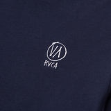 RVCA Horton VA LS Tee - Blue R174099 - Chest Logo | AStore