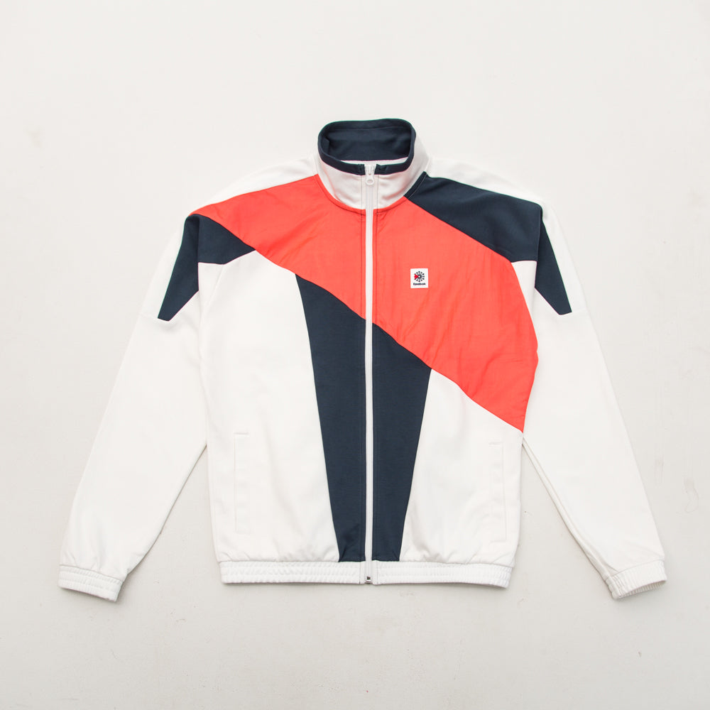 Advance Track Jacket - White - A Store