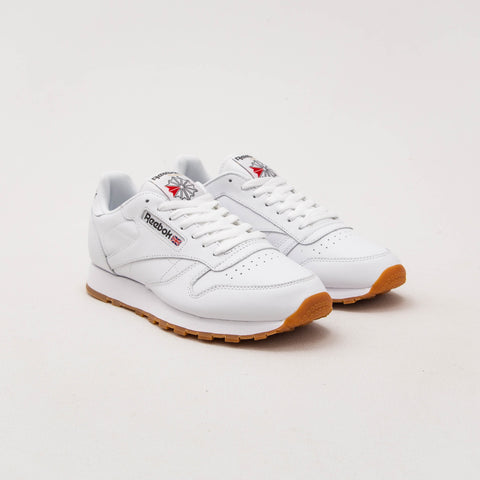 Reebok Classic Leather Sneakers - White 49799 | AStore