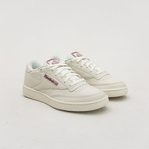 Club C 85 MU - Chalk White / Red - A Store