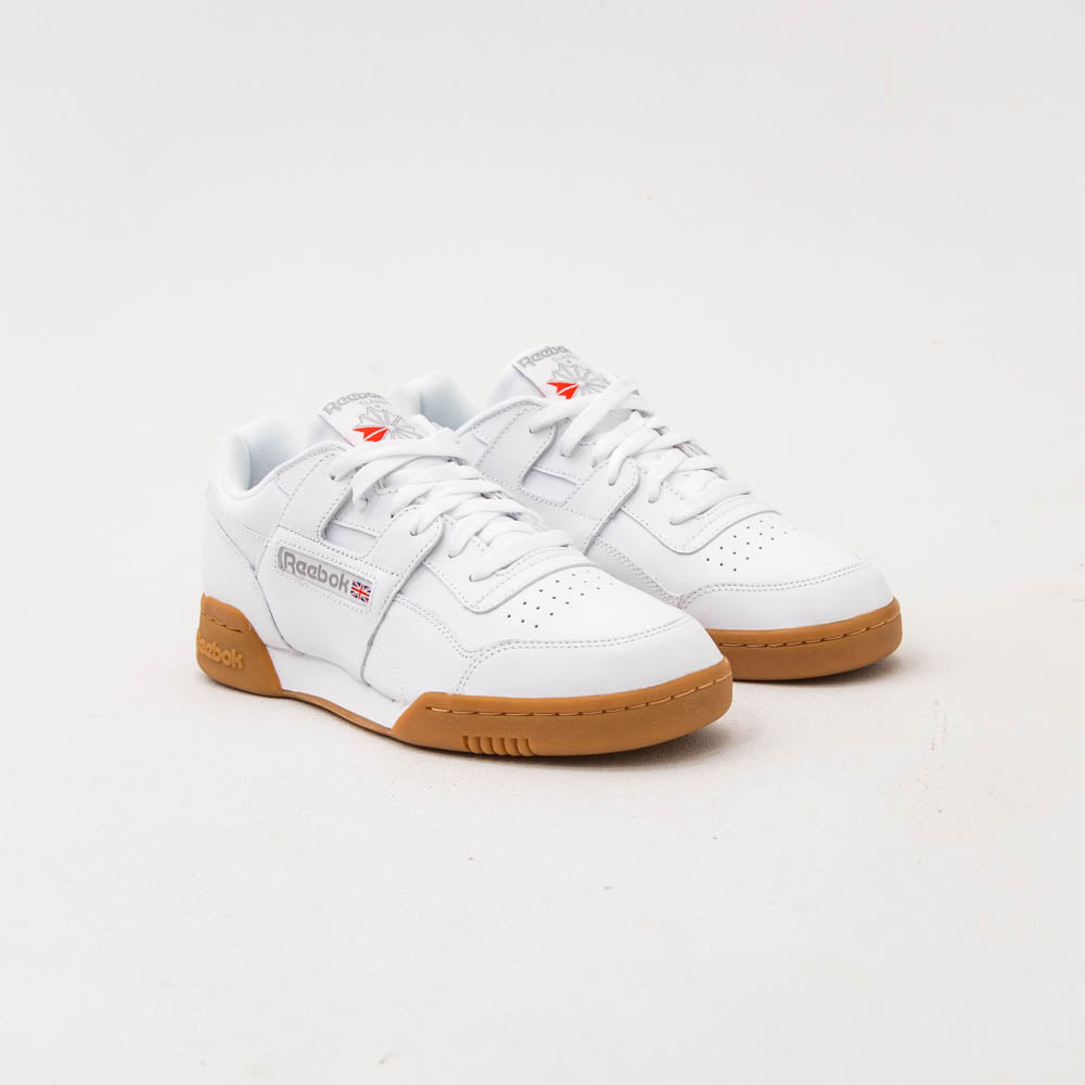 Workout Plus - White / Carbon / Classic Red / Reebok Royal-Gum