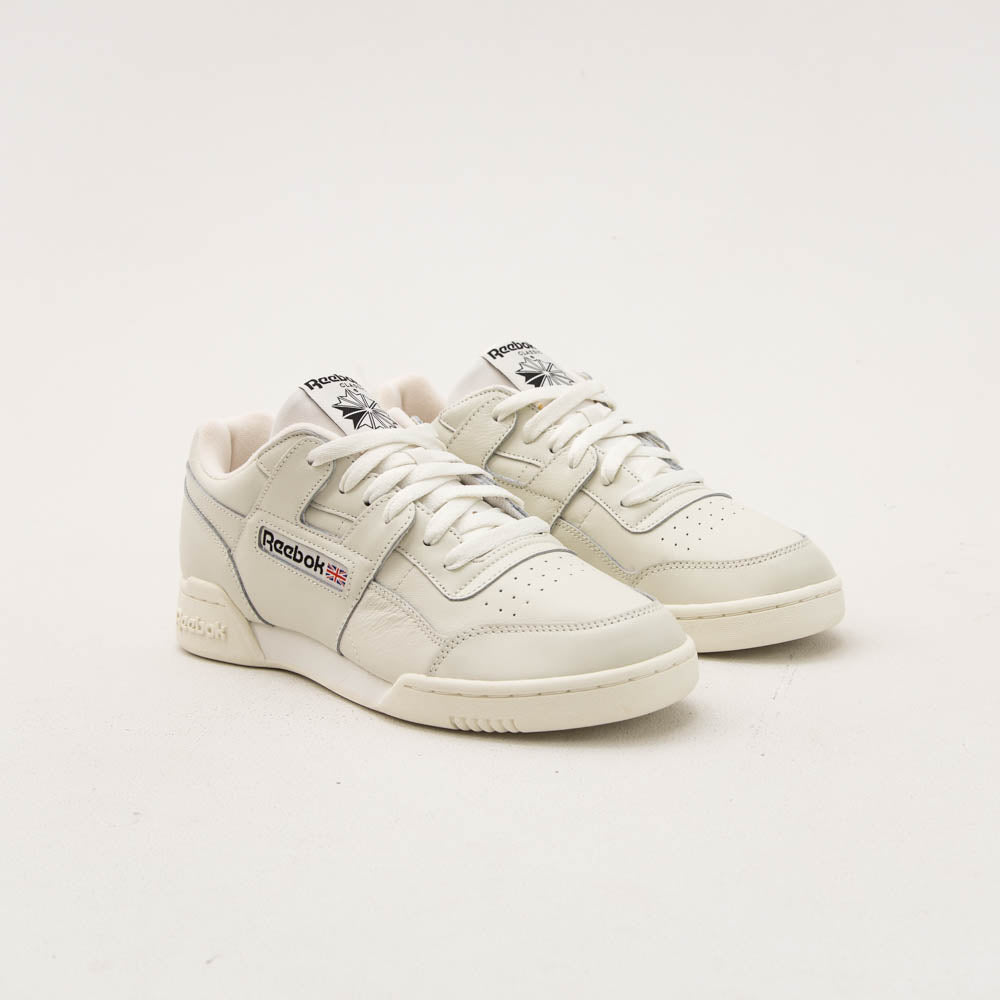 Reebok Workout Plus Mu Sneaker - Chalk White CN4966 | A Store