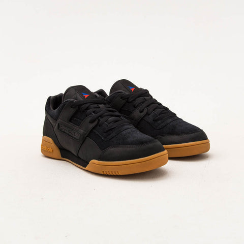 Reebok Workout Plus x The Hundreds Sneakers - Black CN2000 | A Store