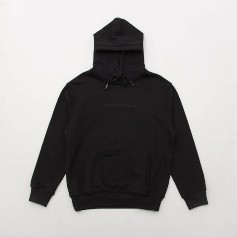 Sol Sol SS Logo Hoodie01 - Black - Front | AStore
