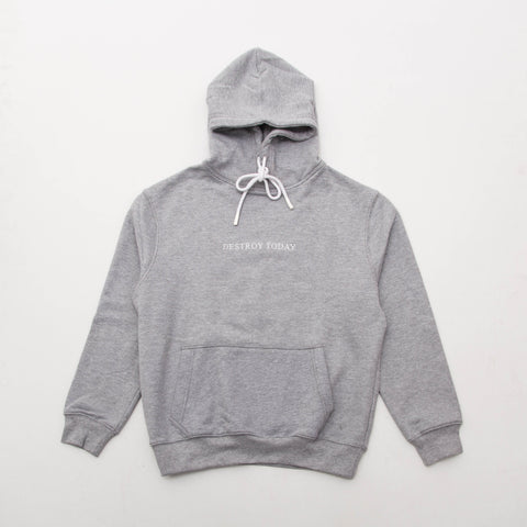 Sol Sol SS Logo Hoodie01 - Grey - Front | AStore