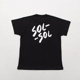 Sol Sol SST01 Tee - Black - Back | AStore