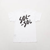 Sol Sol SST01 Tee - White - Back | AStore
