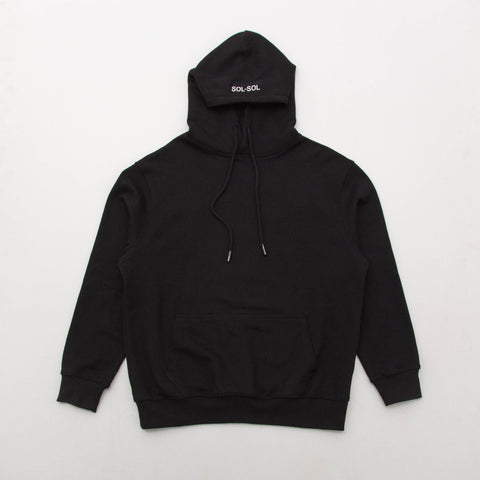 Sol Sol SS Destroy Hoodie01 - Black - Front | AStore