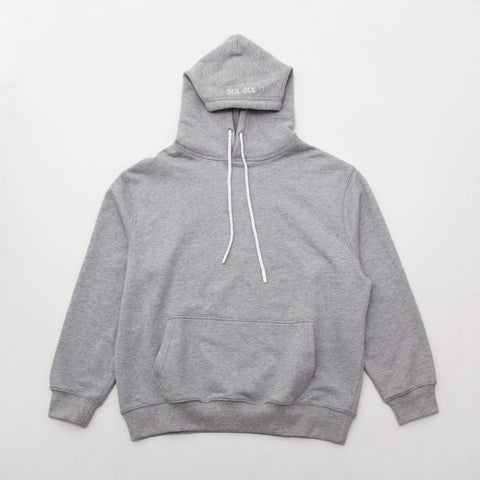 Sol Sol SS Destroy Today Hoody - Grey - Front | AStore