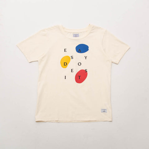 Easy Does It Tee - Cream - A Store