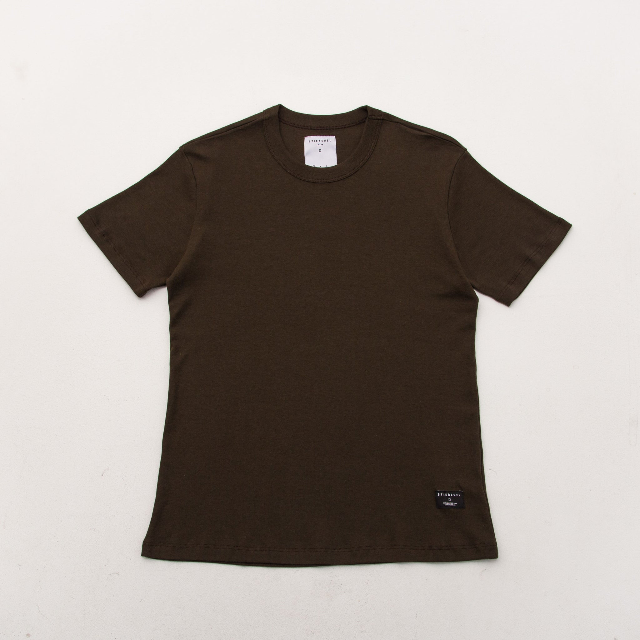 Heavy Weight Tee - Olive - A Store
