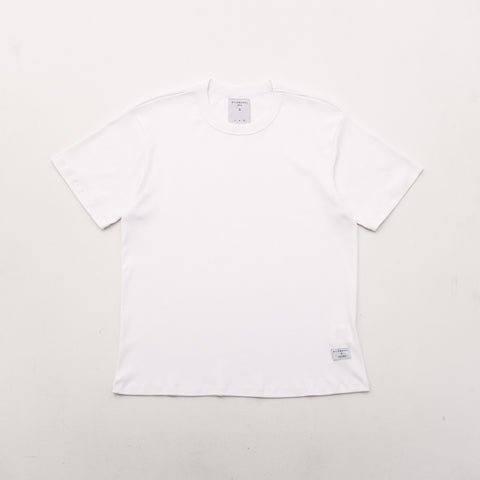 Heavy Weight Tee - White - A Store